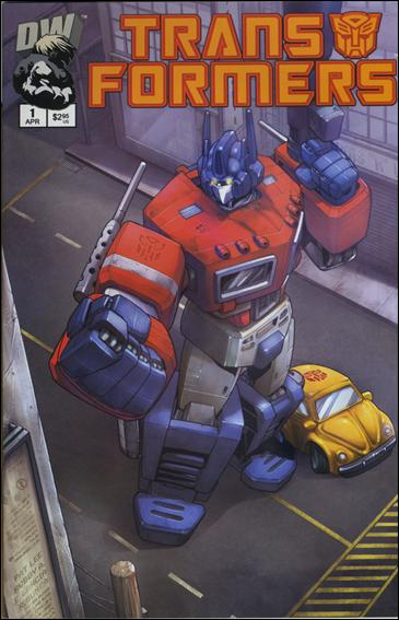 Transformers: Generation 1 (2002) 1-E by Dreamwave