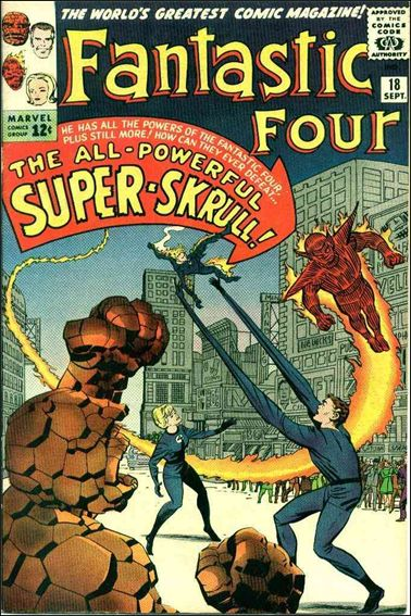Fantastic Four (1961) 18-A by Marvel