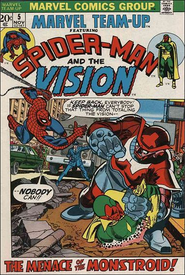 Marvel Team-Up (1972) 5-A by Marvel