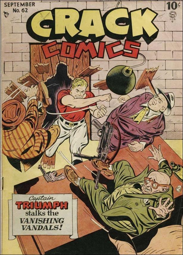 Crack Comics 62-A by Quality