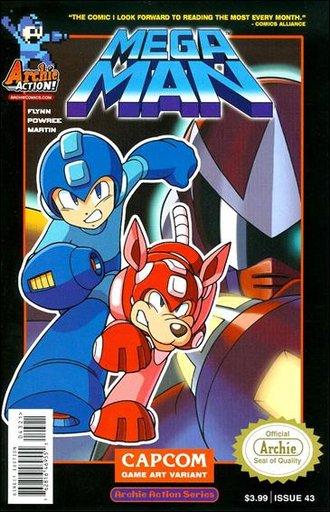 Mega Man 43-B by Archie