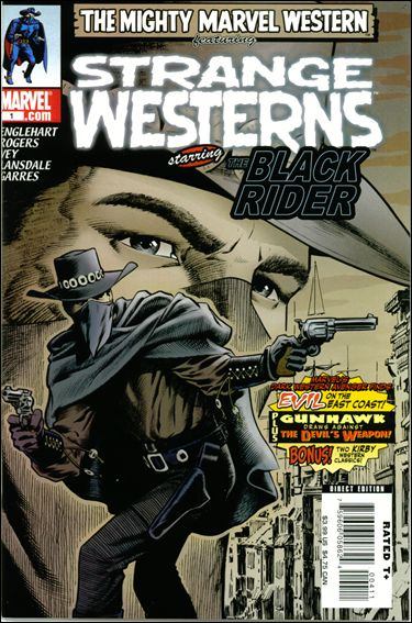 Marvel Westerns: Strange Westerns Starring The Black Rider 1-A by Marvel