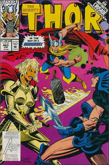 Thor (1966) 463-A by Marvel