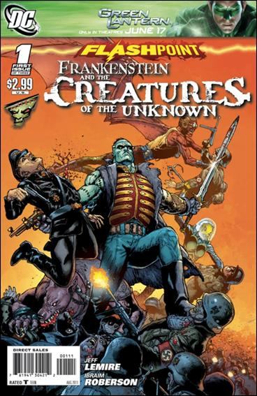 Flashpoint: Frankenstein & the Creatures of the Unknown 1-A by DC