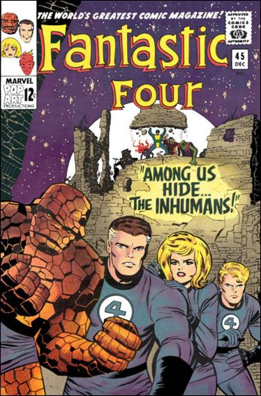 Fantastic Four (1961) 45-A by Marvel