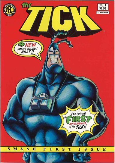 Tick (1988) 1-C by New England Comics Press (NEC / NECP)