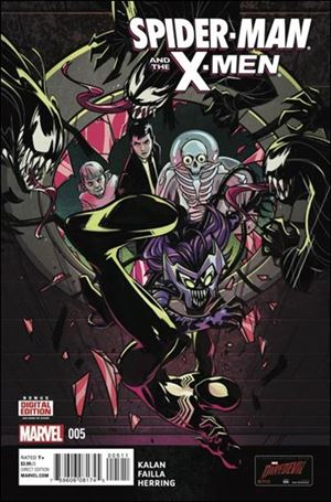 Spider-Man & the X-Men 5-A