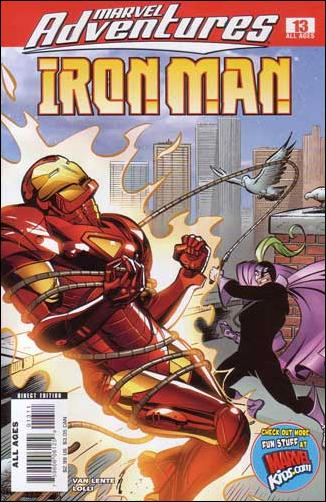 Marvel Adventures Iron Man 13-A by Marvel