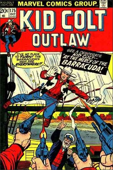 Kid Colt Outlaw  175-A by Marvel