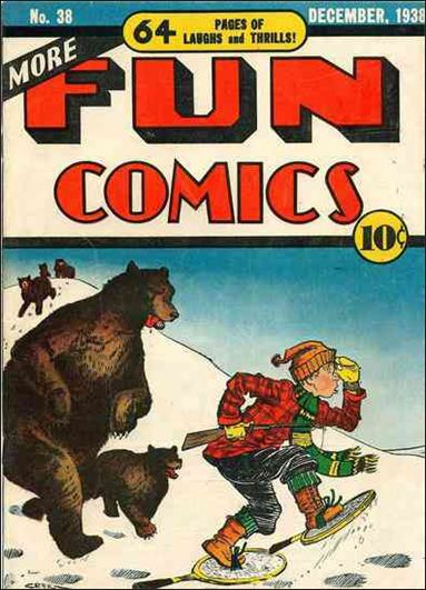 More Fun Comics 38-A by DC