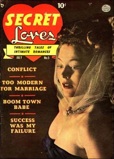Secret Loves 5-A by Comic Magazines