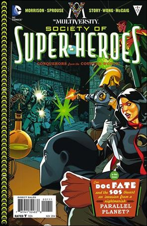 Multiversity: The Society of Super-Heroes: Conquerors of the Counter-World 1-A