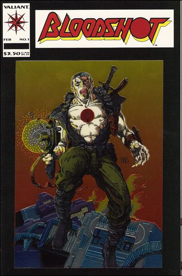 Bloodshot (1993) 1-A by Valiant