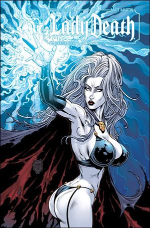 Lady Death Origins Annual 1-K