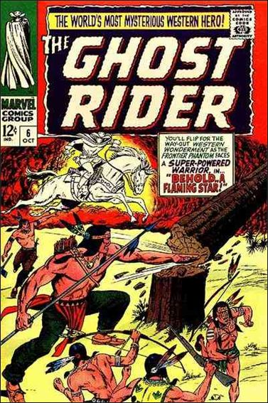 Ghost Rider (1967) 6-A by Marvel