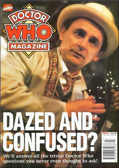 Doctor Who Magazine 266-A by Marvel UK