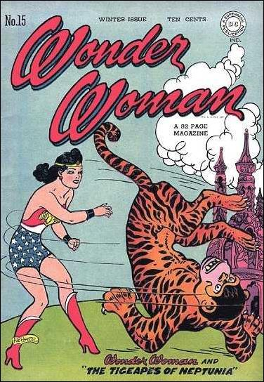 Wonder Woman (1942) 15-A by DC