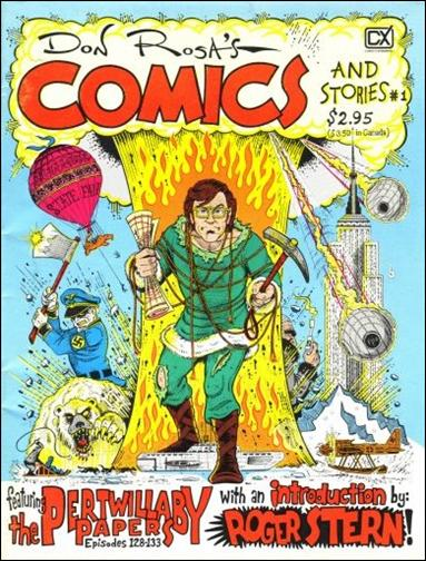 Don Rosa's Comics and Stories 1-A by Fantagraphics