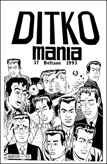 Ditkomania 37-A by Bill Hall & Rob Imes