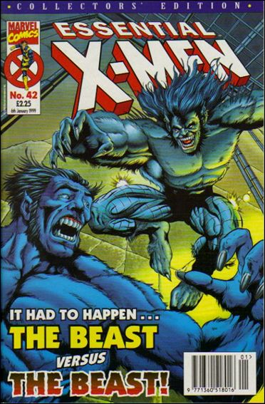 Essential X-Men (UK) 42-A by Marvel UK