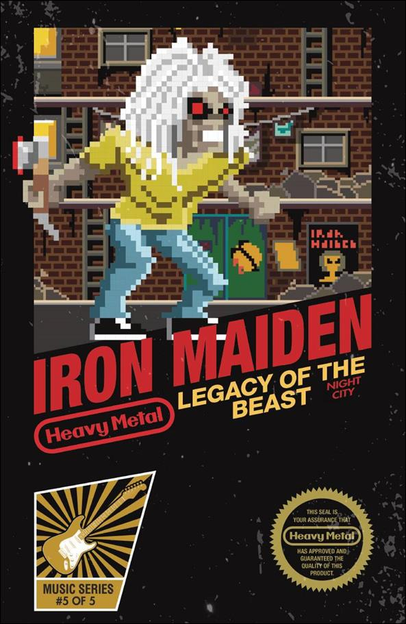 Iron Maiden Legacy of the Beast: Night City 5-C by Heavy Metal