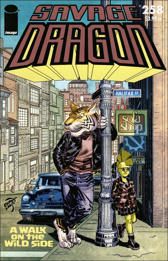Savage Dragon (1993) 258-A by Image