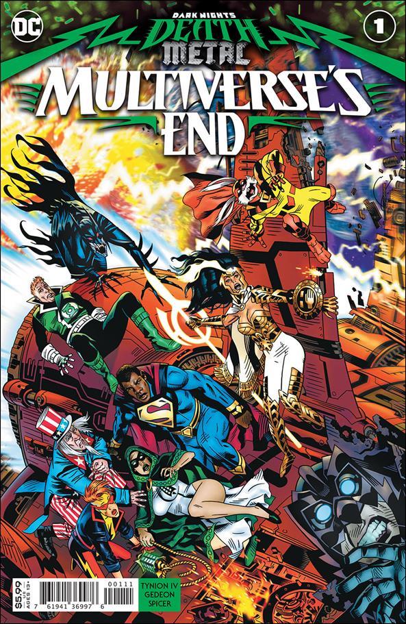 Dark Nights: Death Metal - Multiverse's End 1-A by DC