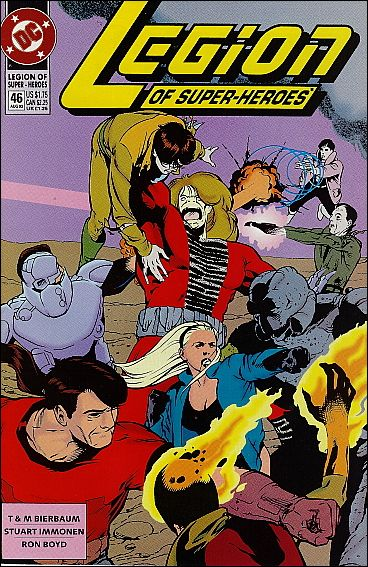 Legion of Super-Heroes (1989) 46-A by DC