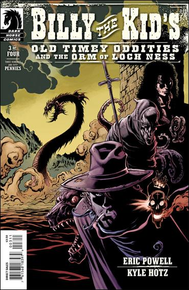 Billy the Kid's Old Timey Oddities and The Orm of Loch Ness 3-A by Dark Horse
