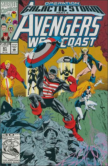 Avengers West Coast 81-A by Marvel
