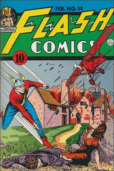 Flash Comics (1939) 14-A by DC