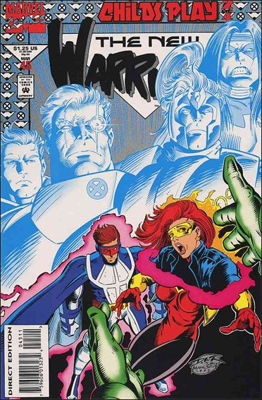 New Warriors (1990) 45-A by Marvel