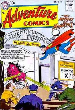 Adventure Comics (1938) 245-A by DC