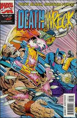 Death Wreck (UK) 2-A by Marvel UK