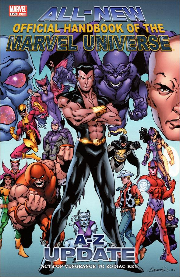 All-New Official Handbook of the Marvel Universe A to Z: Update 3-A by Marvel