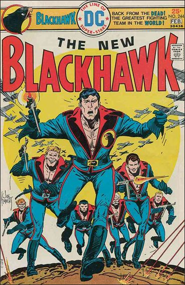 Blackhawk (1944) 244-A by DC