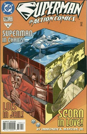 Action Comics (1938) 739-A by DC