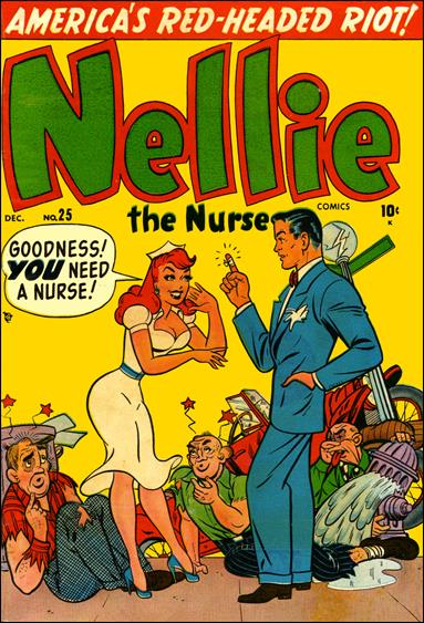 Nellie the Nurse (1945) 25-A by Marvel