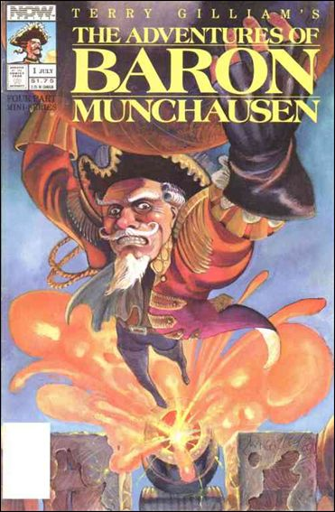 Adventures of Baron Munchausen 1-A by Now Comics