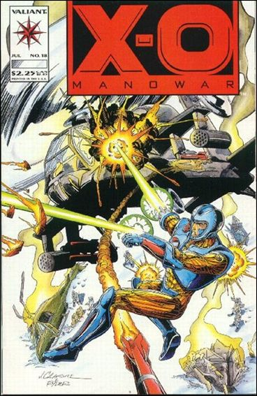 X-O Manowar (1992) 18-A by Valiant