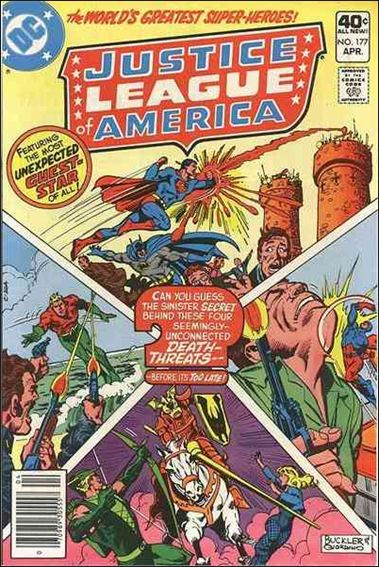 Justice League of America (1960) 177-A by DC