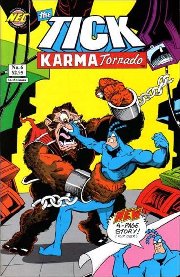 Tick Karma Tornado 6-B by New England Comics Press (NEC / NECP)