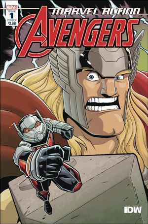 Marvel Action: Avengers (2020) 1-A