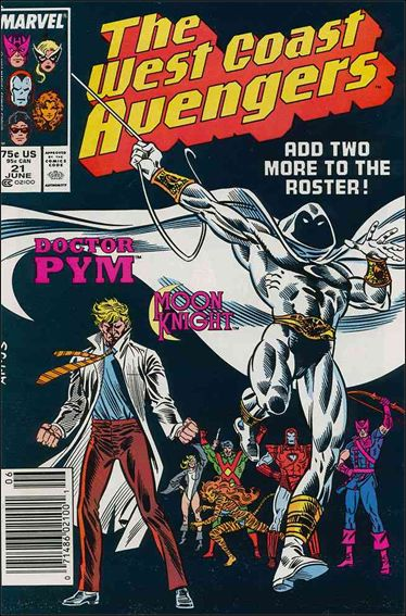 West Coast Avengers (1985) 21-A by Marvel