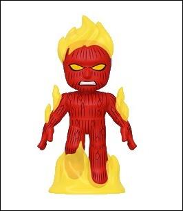 Fantastic Four Mystery Minis Human Torch  1:6 by Funko