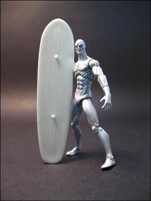 Marvel Universe (Series 1) Silver Surfer - Loose