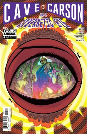 Cave Carson Has a Cybernetic Eye 4-A