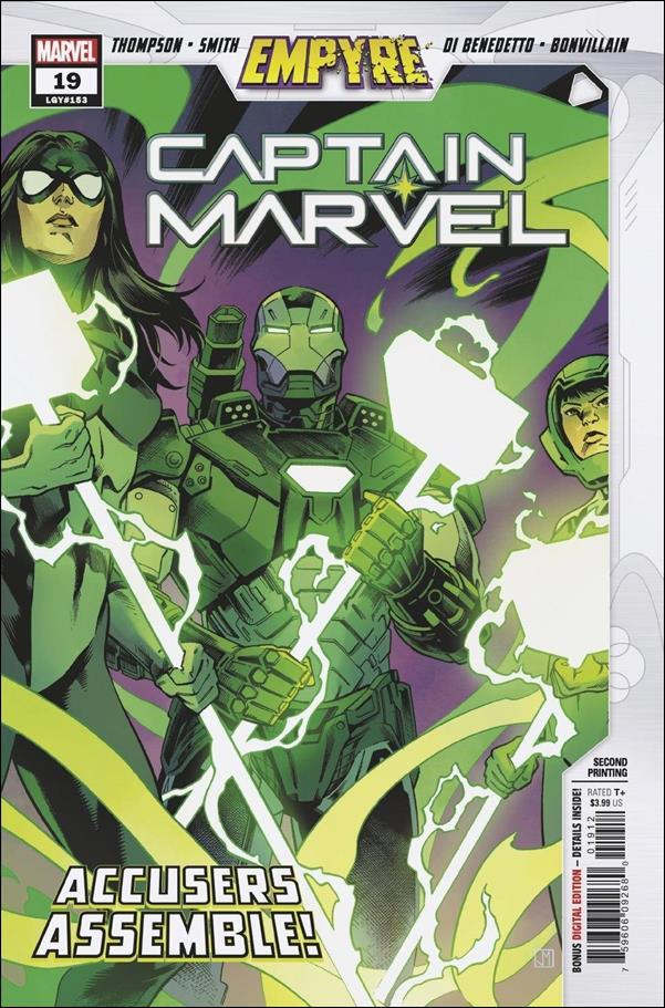 Captain Marvel (2019) 19-C by Marvel