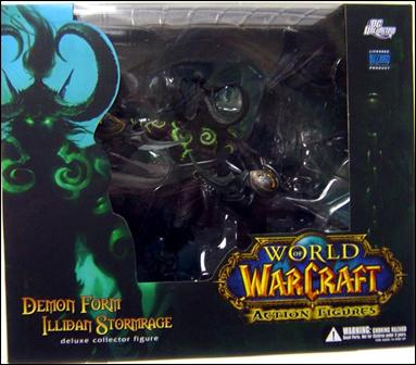 world of warcraft demon form illidan stormrage jan 2009
