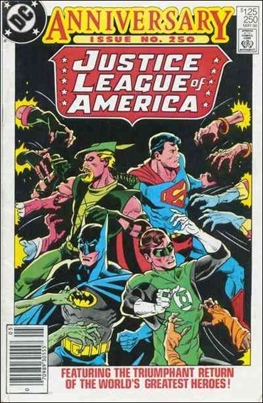 Justice League of America (1960) 250-A by DC